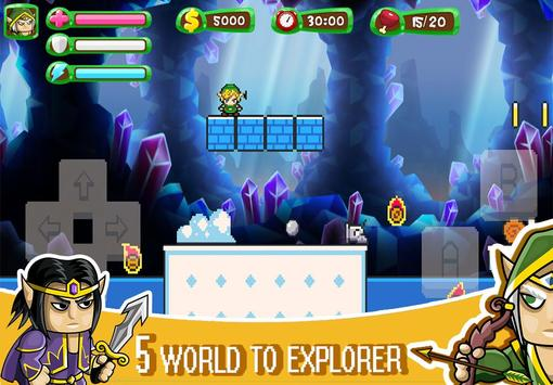 ELF Super Adventure : Pixel Adventure World screenshot 13