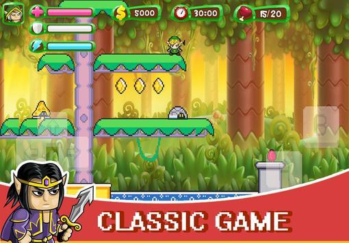 ELF Super Adventure : Pixel Adventure World screenshot 1
