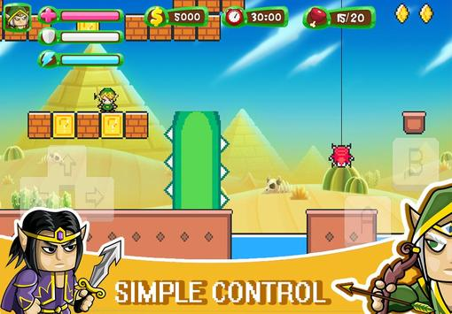 ELF Super Adventure : Pixel Adventure World screenshot 2