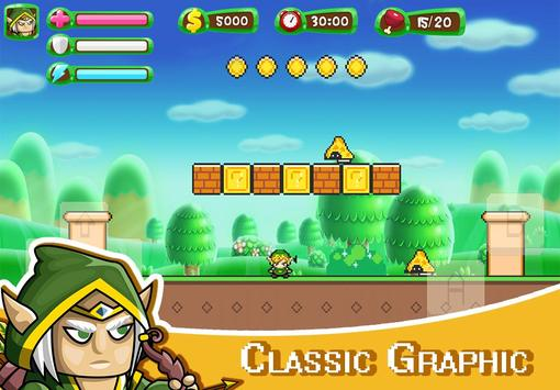 ELF Super Adventure : Pixel Adventure World screenshot 5
