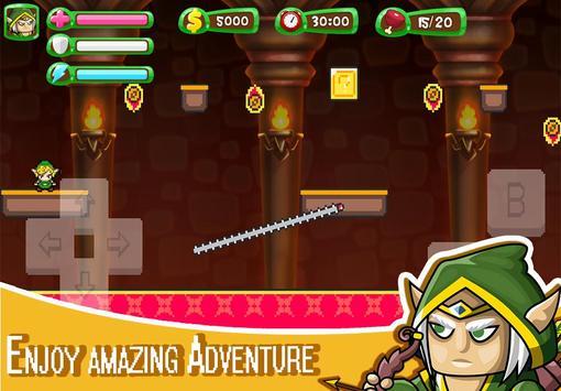 ELF Super Adventure : Pixel Adventure World screenshot 9