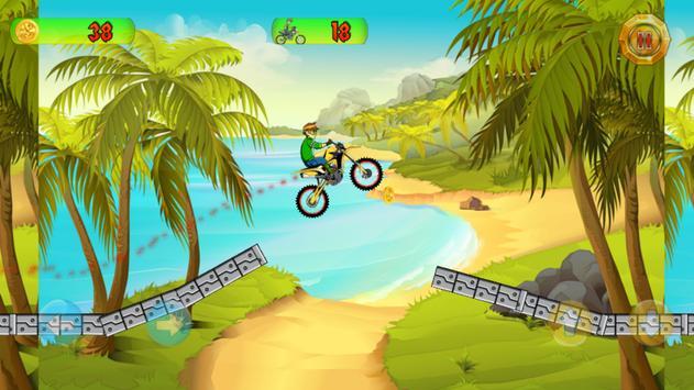Ben Motocross Action poster