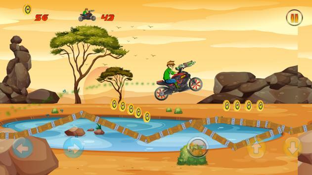 Ben Motorcycle Laser Gun apk screenshot