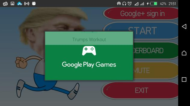 Trumps Workout apk screenshot