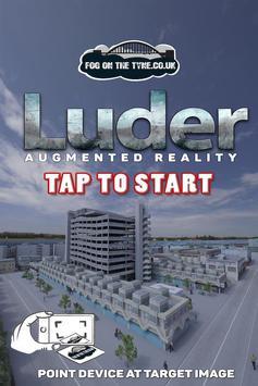 AR Luder car park poster