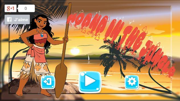 Princess Moana  Adventure run world screenshot 1