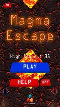 Magma Escape poster