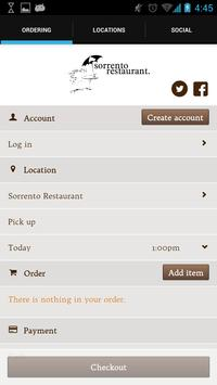 Sorrento Restaurant screenshot 1