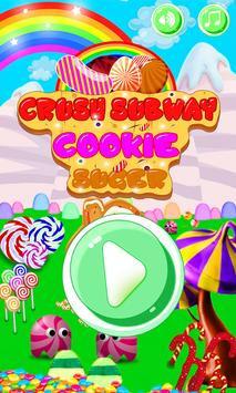 Crush Subway Cookie Candy  Sugar Match 3 poster