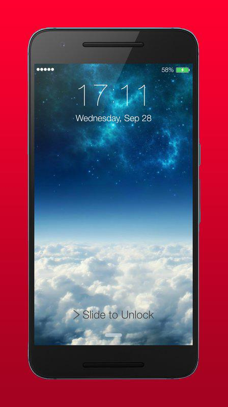 Lock Screen for Iphone 7 Plus for Android - APK Download