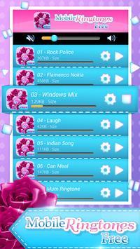 Mobile Ringtones Free screenshot 1