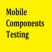 Mobile Components Testing icon