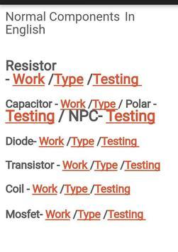 Mobile Components Testing screenshot 1