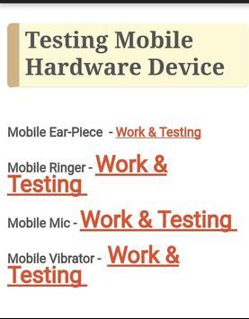 Mobile Components Testing screenshot 3