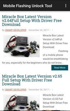 Mobile Flashing Unlock Tool screenshot 3