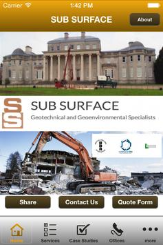 Sub Surface poster