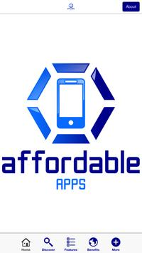 Affordable Apps poster