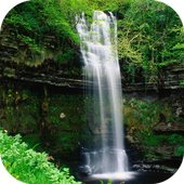 Waterfall. Nature Wallpapers icon