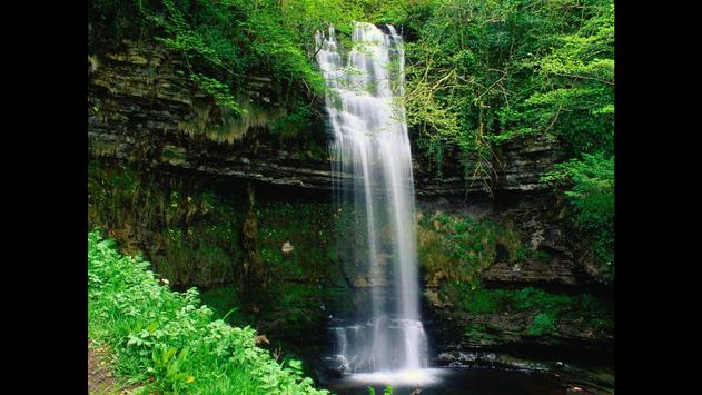Waterfall. Nature Wallpapers poster