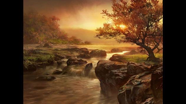 Waterfall. Nature Wallpapers screenshot 1