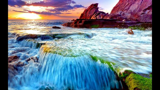 Waterfall. Nature Wallpapers screenshot 3