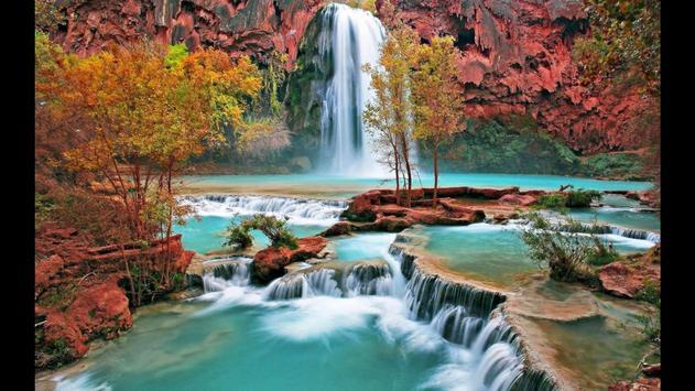 Waterfall. Nature Wallpapers screenshot 5