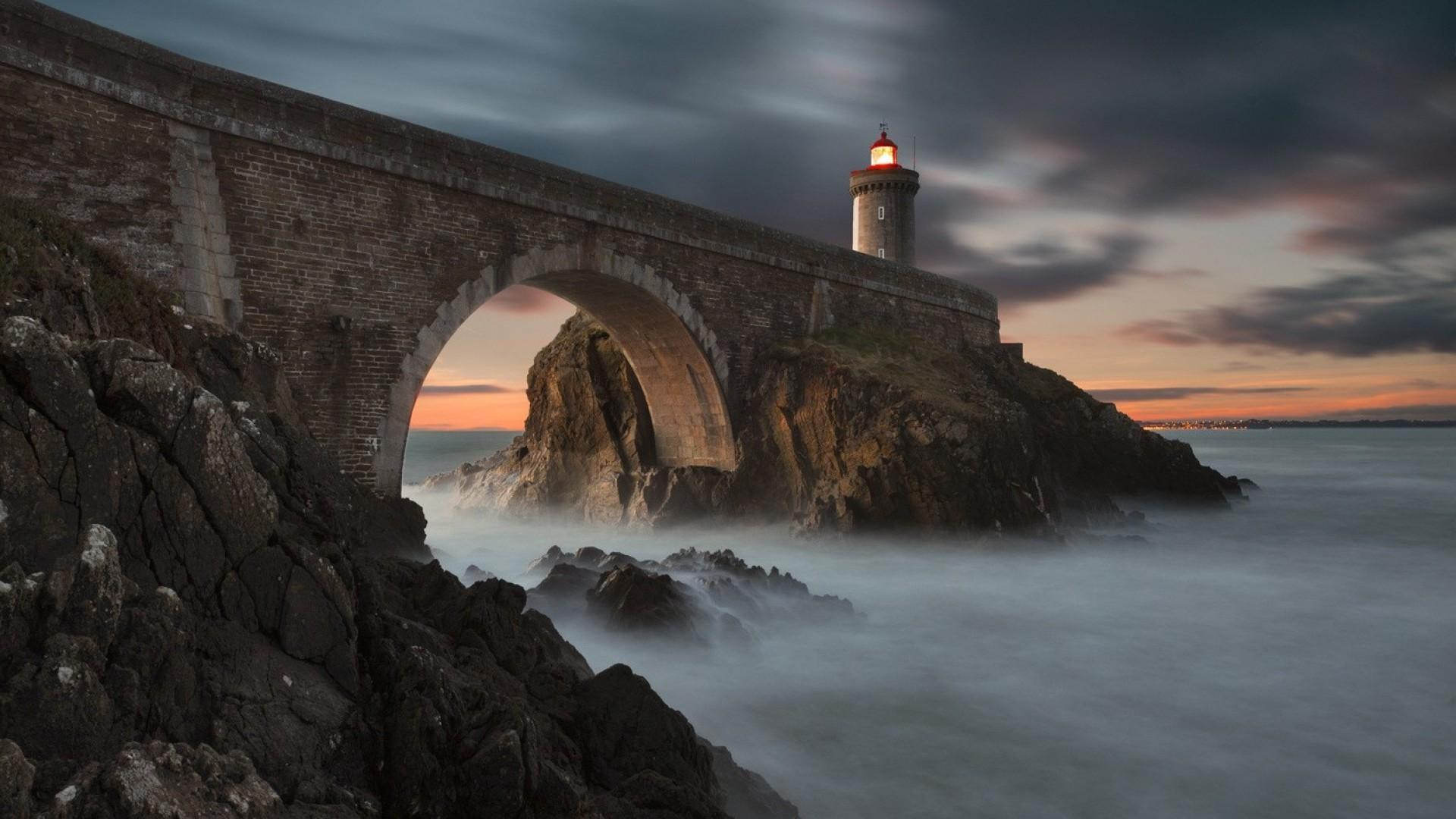 Lighthouse Storm Hd Wallpaper For Android Apk Download