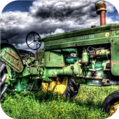 Green Tractor. Super Wallpapers icon