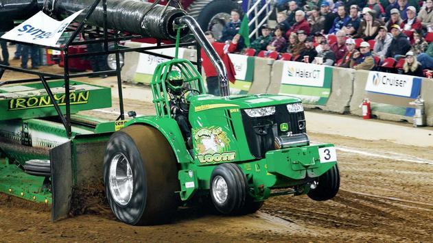 Green Tractor. Super Wallpapers screenshot 2