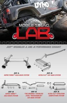 DynoMax Mobile Sound Lab poster