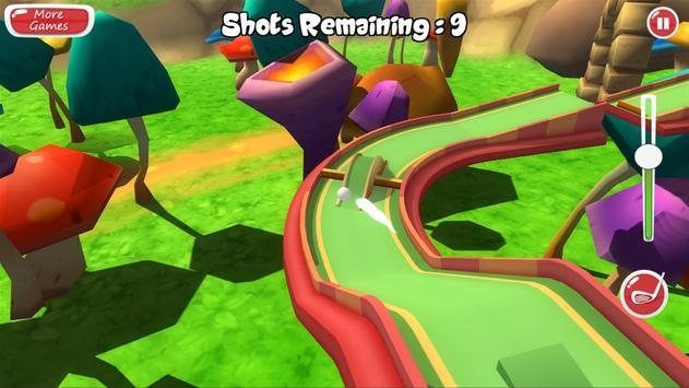Mini Golf 3D Adventure screenshot 1