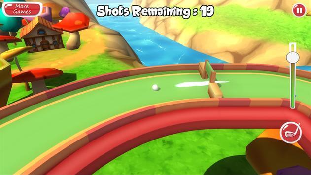 Mini Golf 3D Adventure screenshot 7