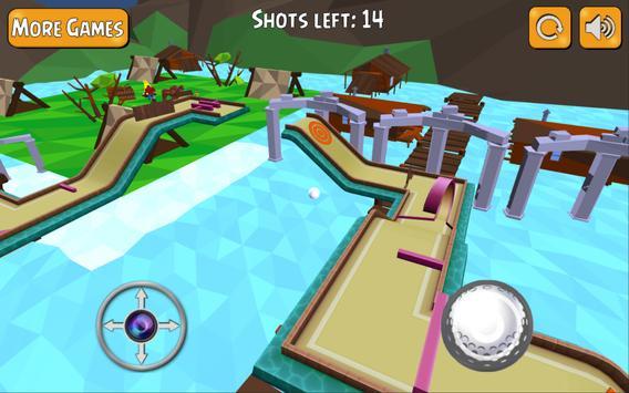 Mini Golf 3D Course King apk screenshot