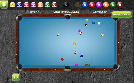 Pool 3D - Best 8 Ball Billiard apk screenshot