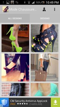 Mode Chaussures Femmes apk screenshot