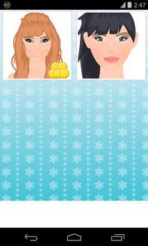 model makeup game poster