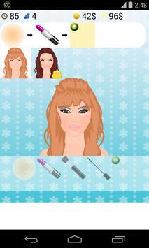 model makeup game screenshot 1