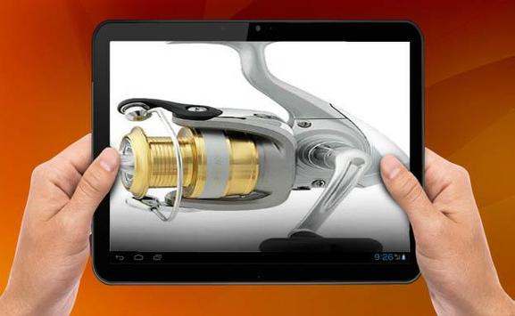 Model Reel Fishing Rod apk screenshot