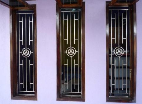 Model of Door and Window Trellis poster