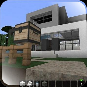 modern minecraft house design poster - House Design Download