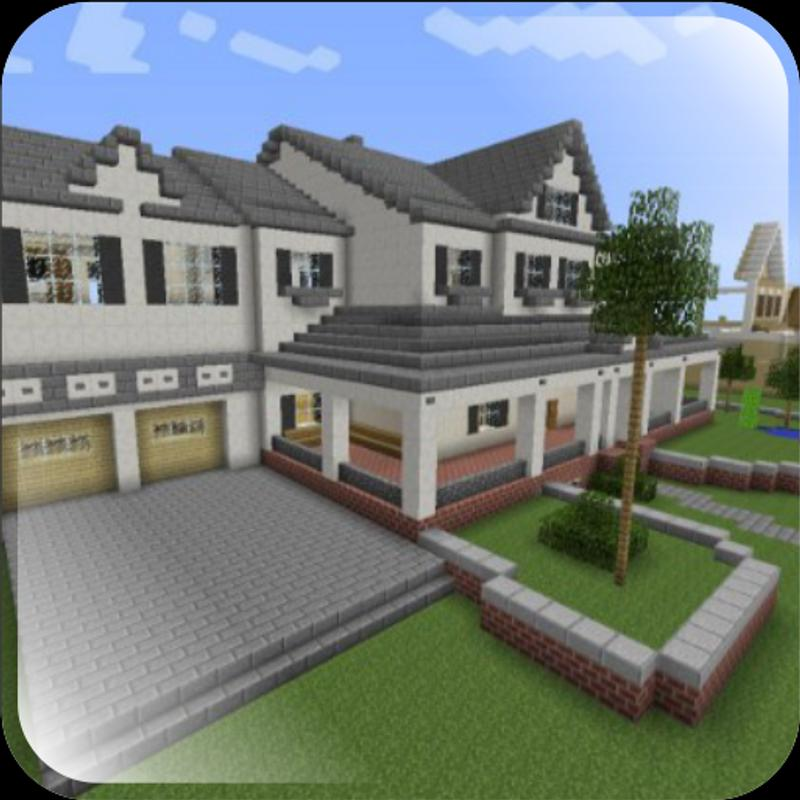 Home Design Ideas App: Modern Minecraft House Design For Android