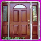 Modern Minimalist House Door Design icon