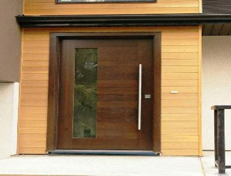 Modern Minimalist House Door Design screenshot 1