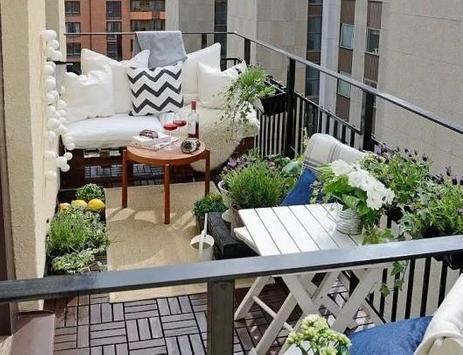 Modern Balcony Design Ideas poster