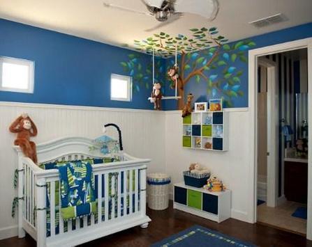 Modern Design Baby Room poster