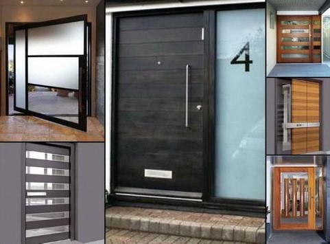 modern design house door poster