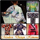 Modern Design Kimono icon