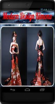 Modern Design Kimono poster
