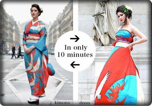 Modern Design Kimono apk screenshot
