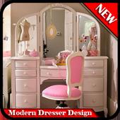 Modern Dresser Design icon
